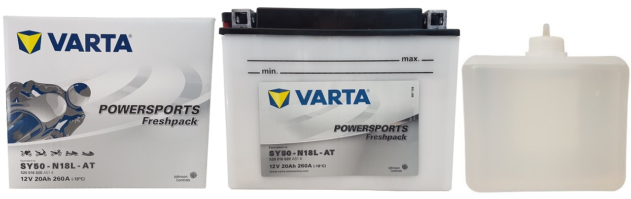 Akumulator VARTA SY50-N18L-AT 12V 20Ah 260A